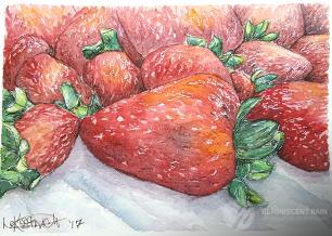 Day 4 - Strawberries for the Fourth of July.